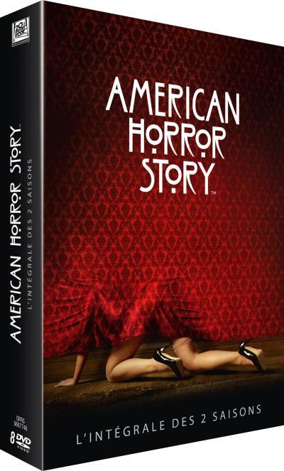 American Horror Story - Coffret intégral des Saisons 1 et 2 DVD
