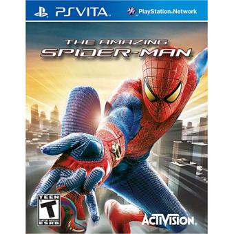 the amazing spider man ps vita sur ps vita jeux vid o achat prix fnac. Black Bedroom Furniture Sets. Home Design Ideas