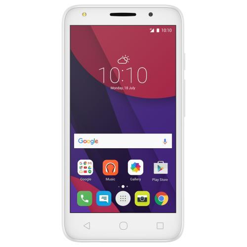 Smartphone Alcatel Pixi 4 8 Go Double SIM Blanc