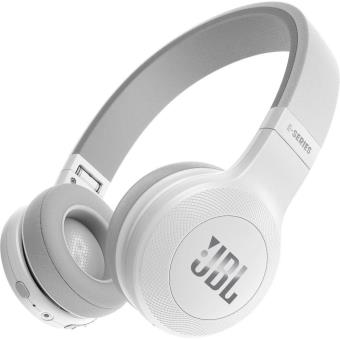 casque jbl e45 bluetooth blanc casque audio achat prix fnac. Black Bedroom Furniture Sets. Home Design Ideas