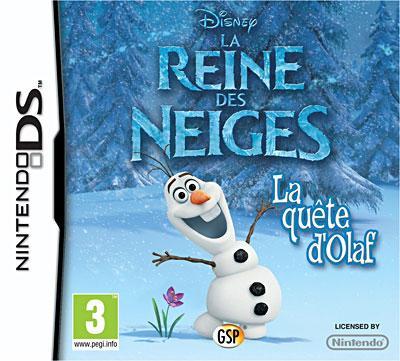Frozen La Reine des Neiges DS - Nintendo DS