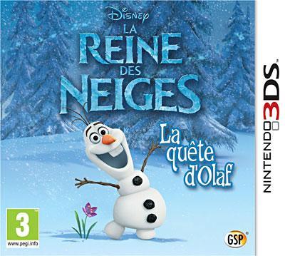 Frozen La Reine des Neiges 3DS - Nintendo 3DS