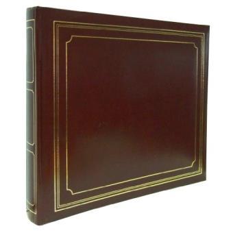 album photo panodia empire 33 x 28 cm adh sif blanc bordeaux album photo achat prix fnac. Black Bedroom Furniture Sets. Home Design Ideas