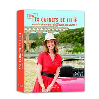 Les carnets de julie la suite de son tour de france gourmand cartonn julie andrieu achat - La cuisine de julie france 3 ...