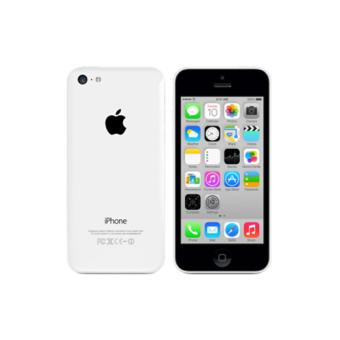 apple iphone 5c 16 go blanc smartphone sous ios. Black Bedroom Furniture Sets. Home Design Ideas