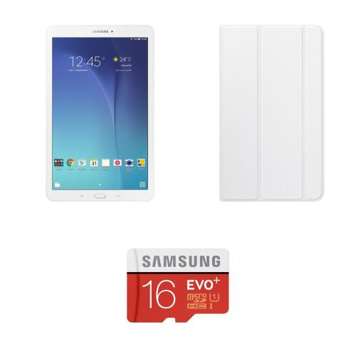 Samsung pack fnac tablette galaxy tab e 9 6 8 go blanc ordinateurpascher - Pack office tablette samsung ...