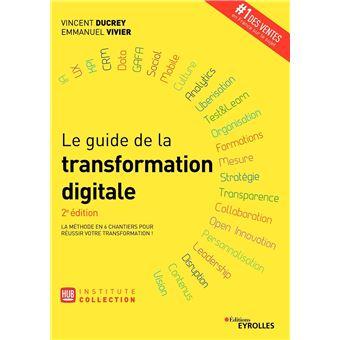 Le guide de la transformation digitale broch vincent for Le guide des prix