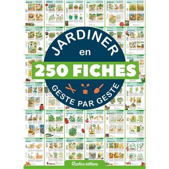 jardiner en 250 fiches geste par geste broch collectif achat livre achat prix fnac. Black Bedroom Furniture Sets. Home Design Ideas