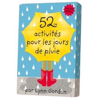 52 activités pour les jours de pluie