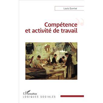 Compétence et activité de travail