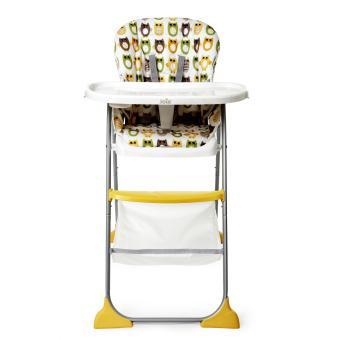 chaise haute mimzy snacker joie hibou produits b b s fnac. Black Bedroom Furniture Sets. Home Design Ideas