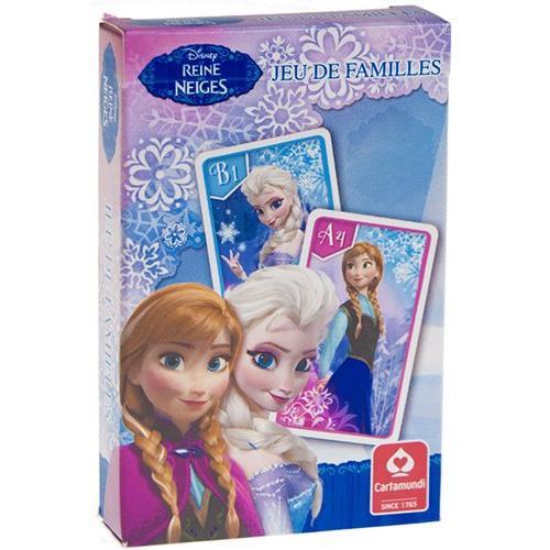jeu de 7 familles frozen la reine des neiges cartamundi zoom