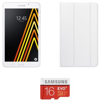 pack fnac tablette samsung galaxy a6 7 8 go blanc carte m moire samsung micro sd 16 go evo. Black Bedroom Furniture Sets. Home Design Ideas