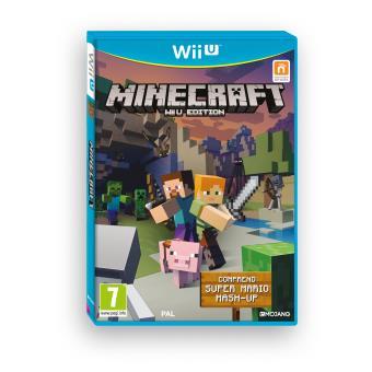 minecraft wii u sur nintendo wii u jeux vid o achat prix fnac. Black Bedroom Furniture Sets. Home Design Ideas