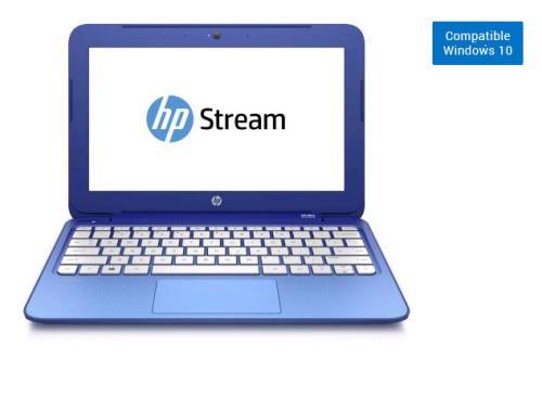 hp pc ultra portable stream notebook 11 d016nf 11 6 netbook ordinateurpascher. Black Bedroom Furniture Sets. Home Design Ideas