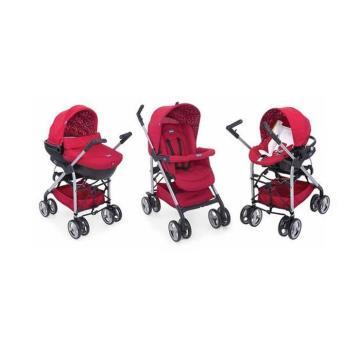 poussette trio sprint chicco rouge produits b b s fnac. Black Bedroom Furniture Sets. Home Design Ideas
