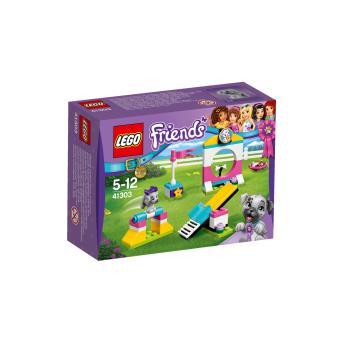 lego friends 41303 l aire de jeux des chiots lego. Black Bedroom Furniture Sets. Home Design Ideas