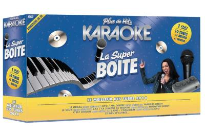 Plus de hits karaoké - Super boite + Mixeur karaoké & micro