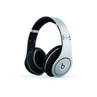 casque beats by dr dre studio silver argent casque. Black Bedroom Furniture Sets. Home Design Ideas