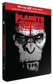 La Planète des Singes : l'affrontement Combo 3D/2D Coffret métal Blu-Ray