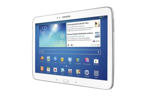 Samsung Galaxy Tab  Blanc Go WiFi a w