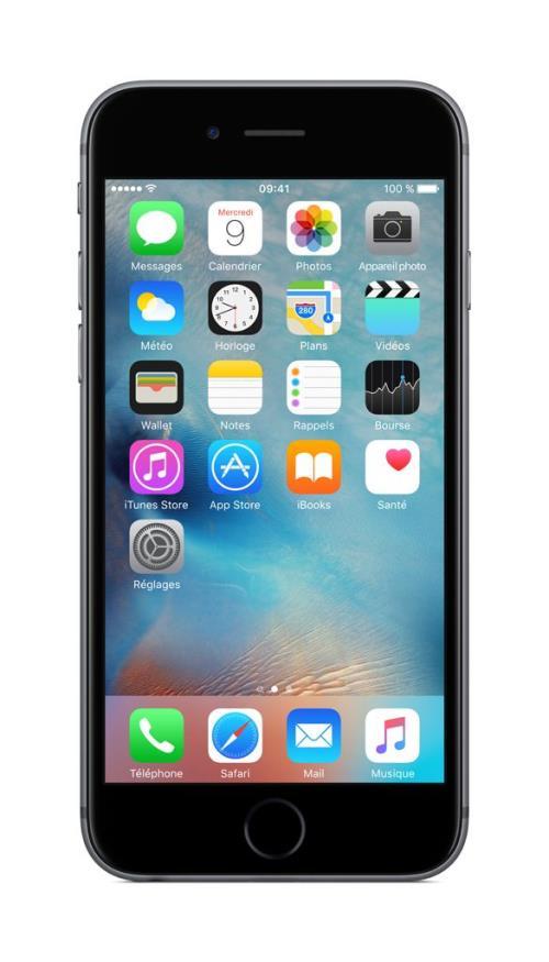 Apple iPhone 6s, 128 Go, 4.7´´ Gris Sidéral