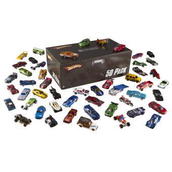 coffret 50 voitures hot wheels mattel voiture achat prix fnac. Black Bedroom Furniture Sets. Home Design Ideas