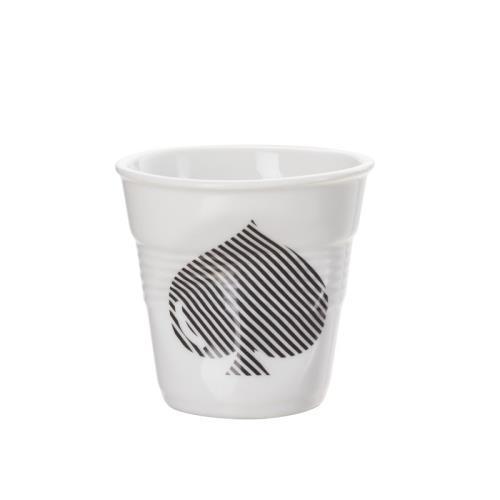 Image du produit Gobelet froissé Revol Espresso 8349215 Pique Blanc / Noir