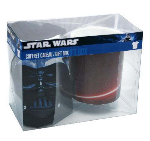 Coffret cadeau Dark side T shirt et mug Star Wars Taille M a w
