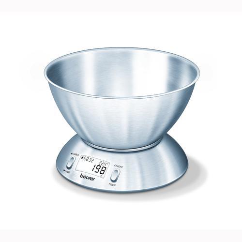 Balance de cuisine bol inox Beurer KS 54 pour 47€