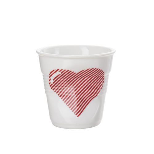 Image du produit Gobelet froissé Revol Espresso 8 cl Cur Blanc / Rouge