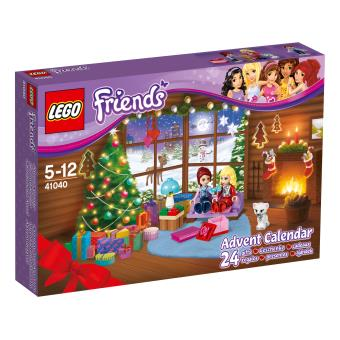 lego friends 41040 le calendrier de l avent lego friends lego achat prix fnac. Black Bedroom Furniture Sets. Home Design Ideas