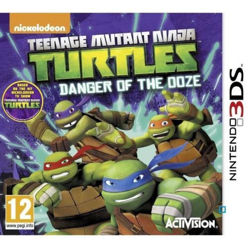 Teenage Mutant Ninja Turtles - Danger Of The Ooze - Nintendo 3DS