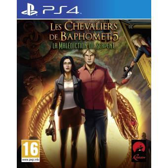 les chevaliers de baphomet 5 la mal diction du serpent ps4 sur playstation 4 jeux vid o top. Black Bedroom Furniture Sets. Home Design Ideas