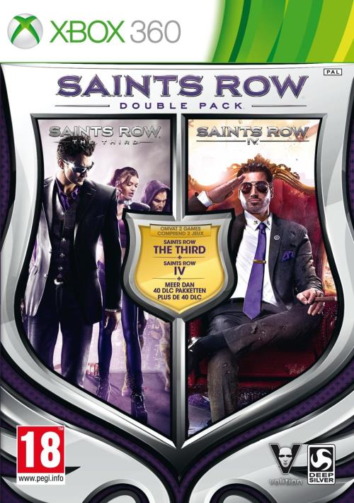 Saints Row Double Pack Xbox 360 - Xbox 360