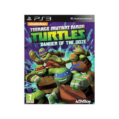 Teenage Mutant Ninja Turtles - Danger Of The Ooze - PlayStation 3