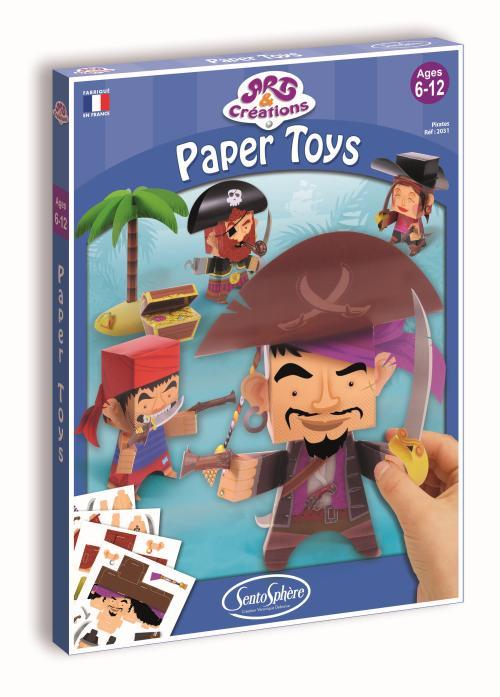Pour construire, sans ciseau et sans colle, 5 personnages en papier et leurs accessoires grâce à une astucieuse combinaison de pliages et de perforations.