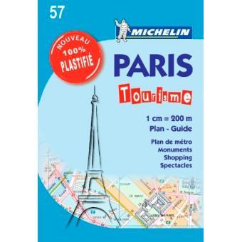 Plan de paris poster michelin broch michelin livre tous les livres l - Boutique michelin paris ...