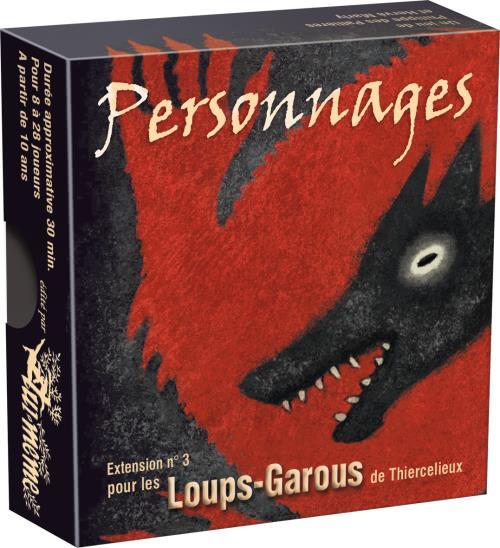Découvrez 16 nouveaux personnages pour Les Loups-Garous de Thiercelieux, tels que le Grand Méchant Loup qui mange deux villageois par nuit et le Renard qui piste les loups-garous.