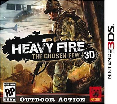 Heavy Fire The Chosen Few 3DS - Nintendo 3DS
