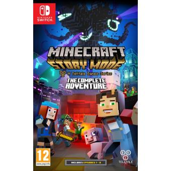 minecraft story mode l aventure compl te nintendo switch. Black Bedroom Furniture Sets. Home Design Ideas