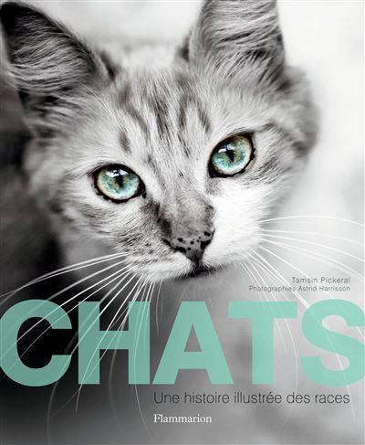 Chats, une histoire illustrée des races. zoom