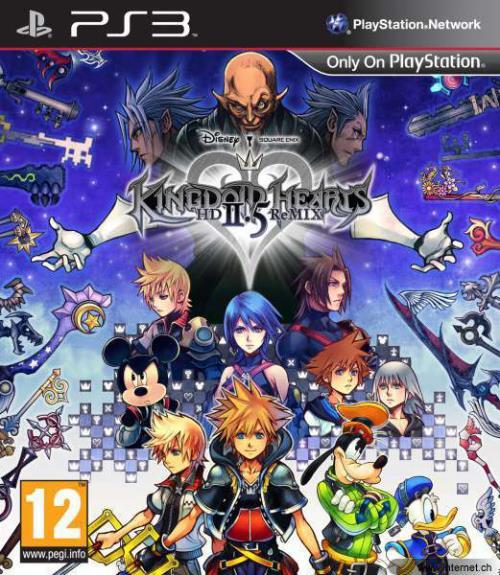 Kingdom Hearts 2.5 PS3 - PlayStation 3