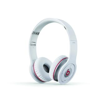 casque beats by dr dre wireless white blanc casque. Black Bedroom Furniture Sets. Home Design Ideas
