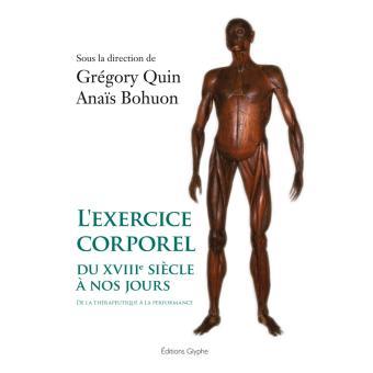 L'exercice corporel du XVIIIe siecle à nos jours
