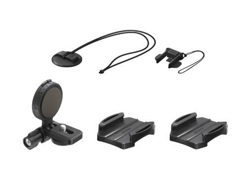 Fixation latérale Sony VCT-HSM1 pour casque Noir