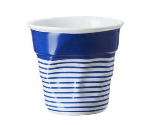 Image du produit Gobelet 18 cl Revol Froissés Cappuccino Blanc Marinière Grand Large