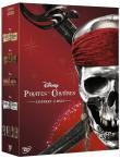 Quadripack Pirates des Caraïbes DVD