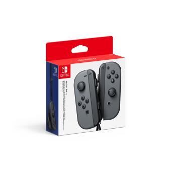 Paire de manettes Nintendo Switch Joy-Con gauche et droite grise