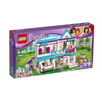 lego friends 41314 la maison de st phanie lego achat prix fnac. Black Bedroom Furniture Sets. Home Design Ideas